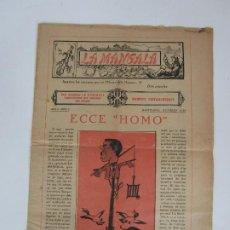 Coleccionismo de Revistas y Periódicos: ANTIGUA REVISTA LA MANGALA Nº 7- NOMBRE EXTREORDINARI - SOLO 8 NÚMEROS - RARO - OCTUBRE 1930. Lote 195251538