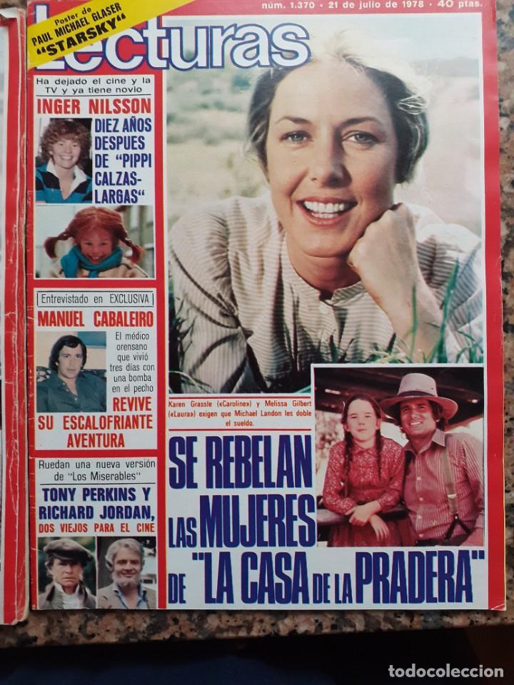 KAREN GRASSLE MELISSA GILBERT MICHAEL LANDON LA CASA DE LA PRADERA (Coleccionismo - Revistas y Periódicos Modernos (a partir de 1.940) - Otros)
