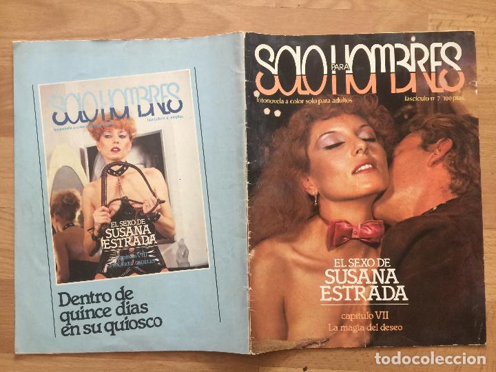 Coleccionismo de Revistas y Periódicos: SOLO PARA HOMBRES - FASCICULO 7 - EL SEXO DE SUSANA ESTRADA - GCH1 - Foto 2 - 195263930