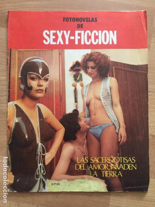 FOTONOVELAS DE SEXY-FICCION - RAREZA VINTAGE - GCH1 (Coleccionismo - Revistas y Periódicos Modernos (a partir de 1.940) - Otros)