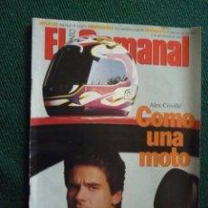 Coleccionismo de Revistas y Periódicos: SUPLEMENTO EL SEMANAL / COMO UNA MOTO / Nº 463 - 1996. Lote 195267572