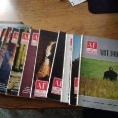 Coleccionismo de Revistas y Periódicos: REVISTA AF ARTE FOTOGRAFICO LOTE DE 13 REVISTAS Nº 164 165 166 265 268 269 270 273 274 275 276 307 . Lote 195273358