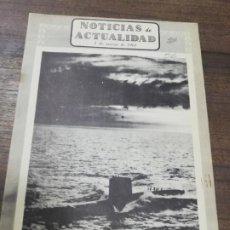 Coleccionismo de Revistas y Periódicos: NOTICIAS DE ACTUALIDAD. 1 MARZO 1961. UN HOSPITAL FLOTANTE. NUEVA ORLEANS, PUERTO FRANCO.. Lote 195278221