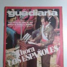 Coleccionismo de Revistas y Periódicos: GUADIANA Nº 30 26 NOVIEMBRE 1975 VICTORIA VERA SE DESNUDA. NATALIE COLE. KEN RUSSEL. Lote 195278377