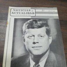 Coleccionismo de Revistas y Periódicos: NOTICIAS DE ACTUALIDAD. 15 NOVIEMBRE 1960. JOHN F. KENNEDY. PRESIDENTE ELECTO DE LOS EEUU.. Lote 195278721