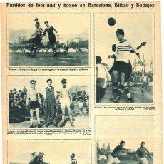 Coleccionismo de Revistas y Periódicos: 1928 HOJA REVISTA CÁRTAGENA DEPORTES BOXEO CAMPEONATO DE CARTAGENA PÚGILES MENDOZA Y NAVARRO. Lote 195281450