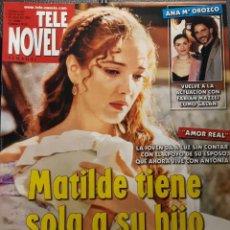Coleccionismo de Revistas y Periódicos: TELENOVELA - NUMERO 633 - 2005 - AMOR REAL -ADELA NORIEGA - MELANIA URBINA - MACHOS - NO CORREOS. Lote 195282643