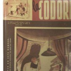 Coleccionismo de Revistas y Periódicos: LA CODORNIZ, TOMO 2. REEDICIÓN AGUALARGA EDITORES, 2004.(M/I). Lote 195292181