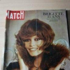 Coleccionismo de Revistas y Periódicos: BRIGITTE BARDOT. REVISTA PARIS MATCH 1969. Lote 195302437