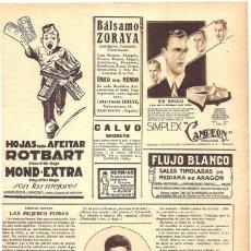 Coleccionismo de Revistas y Periódicos: 1928 HOJA REVISTA MÉDICO DR. CESAR BECARES GANA OPOSICIÓN A ESCUELA NACIONAL DE SANIDAD. Lote 195303727