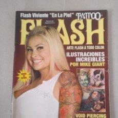 Coleccionismo de Revistas y Periódicos: REVISTA TATTOO FLASH N° 35. ARTE FLASH A TODO COLOR. FLASH VIVIENTE EN LA PIEL. Lote 195304661