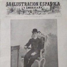 Coleccionismo de Revistas y Periódicos: VISITA OFICIAL DE ALFONSO XIII A PORTUGAL (1903). Lote 195305463