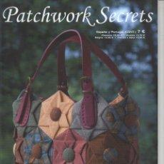 Coleccionismo de Revistas y Periódicos: PATCHWORK SECRETS N. 56 - PATRONES A TAMAÑO NATURAL (NUEVA). Lote 195306181