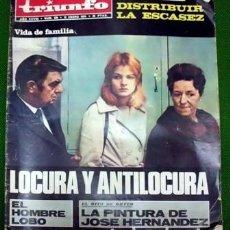 Coleccionismo de Revistas y Periódicos: REVISTA TRIUNFO. AÑO XXVIII Nº 589 - 12 DE ENERO DE 1974. - A-REV-1706. Lote 195314111