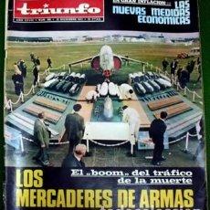 Coleccionismo de Revistas y Periódicos: REVISTA TRIUNFO. AÑO XXVIII Nº 586 - 22 DE DICIEMBRE DE 1973.- A-REV-1707. Lote 195314178