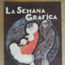 Coleccionismo de Revistas y Periódicos: LA SEMANA GRAFICA. AÑO 1927, Nº 38. JATIVA, MELILLA, SAGUNTO, LO RAT PENAT, SILLA VALENCIA. Lote 195326096