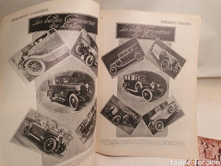Coleccionismo de Revistas y Periódicos: 2 REVISTAS DE COCHES FRANCESAS. AÑOS 20. ENGLEBERT. - Foto 2 - 195327623