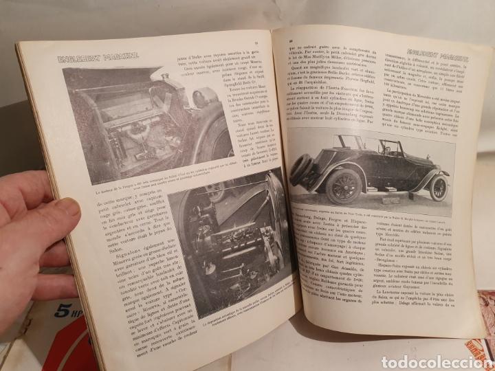 Coleccionismo de Revistas y Periódicos: 2 REVISTAS DE COCHES FRANCESAS. AÑOS 20. ENGLEBERT. - Foto 4 - 195327623