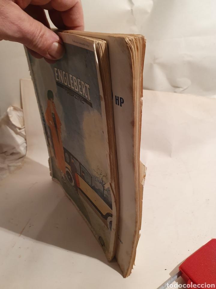 Coleccionismo de Revistas y Periódicos: 2 REVISTAS DE COCHES FRANCESAS. AÑOS 20. ENGLEBERT. - Foto 6 - 195327623
