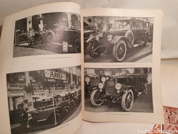 Coleccionismo de Revistas y Periódicos: 2 REVISTAS DE COCHES FRANCESAS. AÑOS 20. ENGLEBERT. - Foto 7 - 195327623