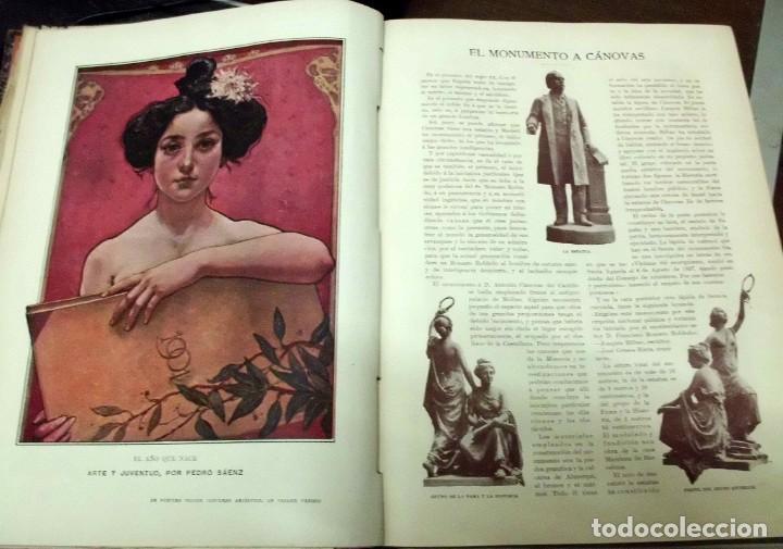 Coleccionismo de Revistas y Periódicos: REVISTA ILUSTRADA BLANCO Y NEGRO. AÑO 1901. - A-REVIL-0482 - Foto 3 - 195327958