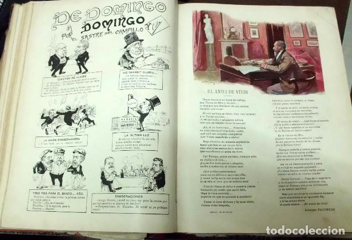 Coleccionismo de Revistas y Periódicos: REVISTA ILUSTRADA BLANCO Y NEGRO. AÑO 1901. - A-REVIL-0482 - Foto 5 - 195327958