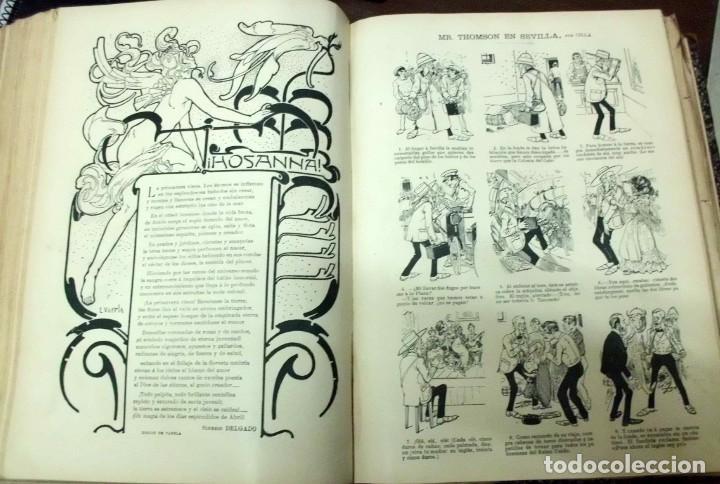 Coleccionismo de Revistas y Periódicos: REVISTA ILUSTRADA BLANCO Y NEGRO. AÑO 1901. - A-REVIL-0482 - Foto 10 - 195327958