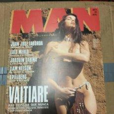 Coleccionismo de Revistas y Periódicos: REVISTA MAN #78 VAITIARE ON COVER ANNE MARIE LAMPE ELLA BORISSOVA JACKI SAMS. Lote 195330131