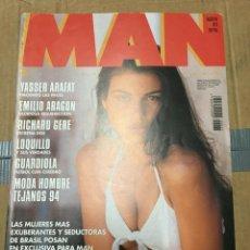 Coleccionismo de Revistas y Periódicos: REVISTA MAN #77 SPECIAL BRAZILIAN GIRLS ALICE GARCIA MARIA TAHLERO. Lote 195330218