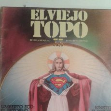 Coleccionismo de Revistas y Periódicos: EL VIEJO TOPO 33 JUNIO 1979.HUMBERTO ECO Y LO SAGRADO. LETAMENDIA ROLAND BARTHES. EUGENIO TRIAS. Lote 195330320