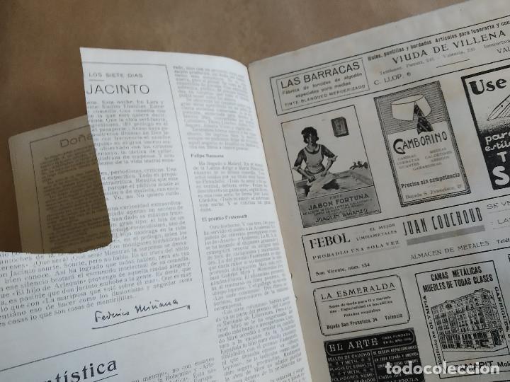 Coleccionismo de Revistas y Periódicos: LA SEMANA GRAFICA. AÑO 1927, Nº 40. SEMANA SANTA EL GRAO, CABAÑAL, MONGRELL, OSTARIZ - Foto 3 - 195332008