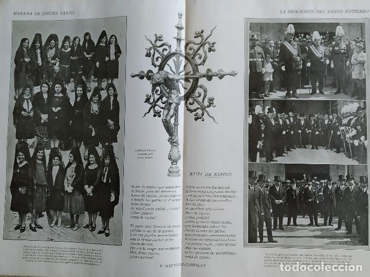Coleccionismo de Revistas y Periódicos: LA SEMANA GRAFICA. AÑO 1927, Nº 40. SEMANA SANTA EL GRAO, CABAÑAL, MONGRELL, OSTARIZ - Foto 6 - 195332008
