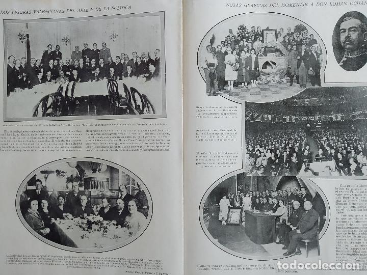 Coleccionismo de Revistas y Periódicos: LA SEMANA GRAFICA. AÑO 1927, Nº 40. SEMANA SANTA EL GRAO, CABAÑAL, MONGRELL, OSTARIZ - Foto 8 - 195332008