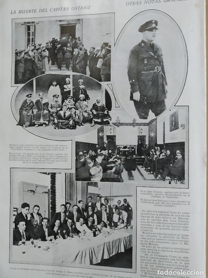 Coleccionismo de Revistas y Periódicos: LA SEMANA GRAFICA. AÑO 1927, Nº 40. SEMANA SANTA EL GRAO, CABAÑAL, MONGRELL, OSTARIZ - Foto 9 - 195332008