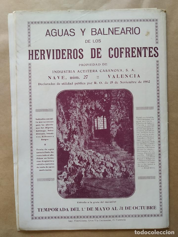 Coleccionismo de Revistas y Periódicos: LA SEMANA GRAFICA. AÑO 1927, Nº 40. SEMANA SANTA EL GRAO, CABAÑAL, MONGRELL, OSTARIZ - Foto 10 - 195332008