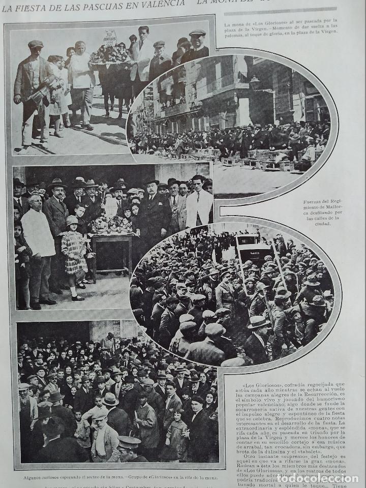 Coleccionismo de Revistas y Periódicos: LA SEMANA GRAFICA. AÑO 1927, Nº 41. VIERNES SANTO MURCIA, MOROS Y CR. ALCOY, CARTAGENA, VALENCIA, - Foto 5 - 195332373