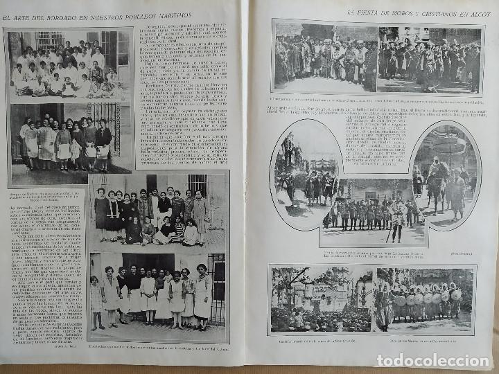 Coleccionismo de Revistas y Periódicos: LA SEMANA GRAFICA. AÑO 1927, Nº 41. VIERNES SANTO MURCIA, MOROS Y CR. ALCOY, CARTAGENA, VALENCIA, - Foto 6 - 195332373