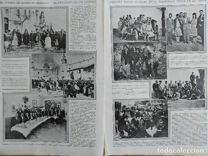 Coleccionismo de Revistas y Periódicos: LA SEMANA GRAFICA. AÑO 1927, Nº 41. VIERNES SANTO MURCIA, MOROS Y CR. ALCOY, CARTAGENA, VALENCIA, - Foto 7 - 195332373