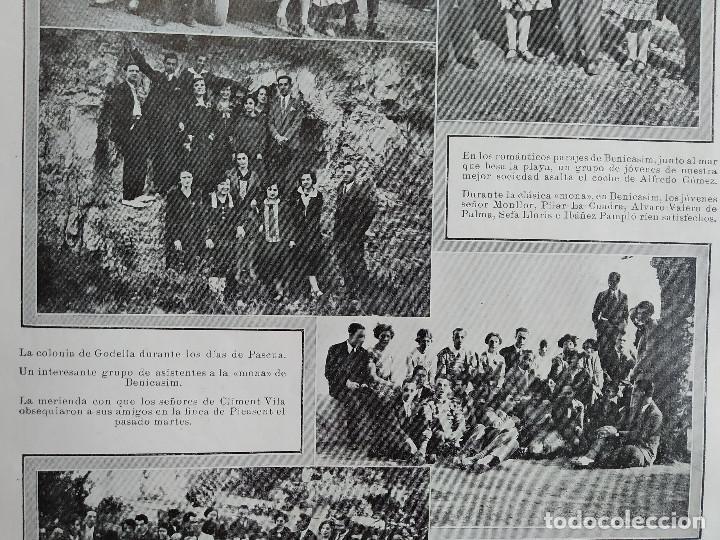 Coleccionismo de Revistas y Periódicos: LA SEMANA GRAFICA. AÑO 1927, Nº 41. VIERNES SANTO MURCIA, MOROS Y CR. ALCOY, CARTAGENA, VALENCIA, - Foto 8 - 195332373