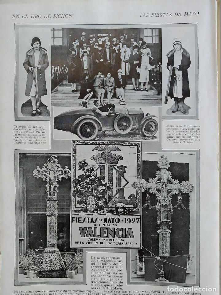 Coleccionismo de Revistas y Periódicos: LA SEMANA GRAFICA. AÑO 1927, Nº 41. VIERNES SANTO MURCIA, MOROS Y CR. ALCOY, CARTAGENA, VALENCIA, - Foto 9 - 195332373