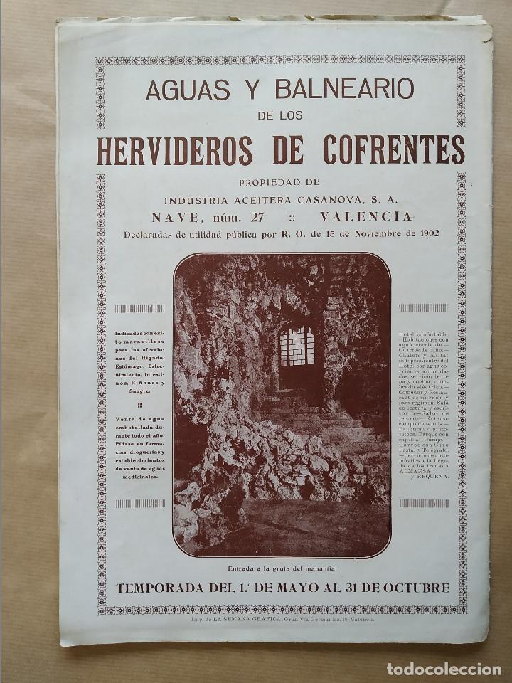 Coleccionismo de Revistas y Periódicos: LA SEMANA GRAFICA. AÑO 1927, Nº 41. VIERNES SANTO MURCIA, MOROS Y CR. ALCOY, CARTAGENA, VALENCIA, - Foto 10 - 195332373