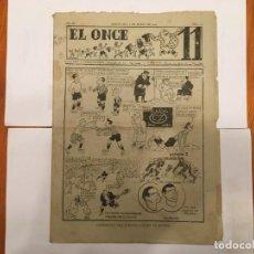 Coleccionismo de Revistas y Periódicos: REVISTA EL ONCE NOTICIAS DE FUTBOL, RESULTADOS Y CRONICAS,Nº 111 -AÑO 1947 ESPAÑA 2 IRLANDA 3. Lote 195340618