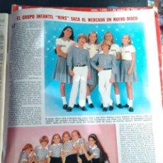Coleccionismo de Revistas y Periódicos: GRUPO INFANTIL NINS . Lote 195340861