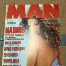 Coleccionismo de Revistas y Periódicos: REVISTA MAN #64 NADINE PICARD WINONA RYDER ESTELLE HALLYDAY ANGELA TURMIR. Lote 195340913