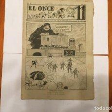 Coleccionismo de Revistas y Periódicos: REVISTA EL ONCE NOTICIAS DE FUTBOL, CRONICAS Y RESULTADOS Nº 180 AÑO 1947 A SEGUNDA . Lote 195341038