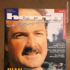 Coleccionismo de Revistas y Periódicos: HERRIA EGINEZ 39. ZENBAKIA (1996KO URRIA). JUAN MARI MENDIZABAL, DOSIERRA: DEMOKRAZIAREN EGARRIZ. Lote 195341051
