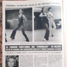 Coleccionismo de Revistas y Periódicos: MELISSA GILBERT LAURA LA CASA DE LA PRADERA SOFIA LOREN. Lote 195343307
