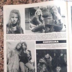 Coleccionismo de Revistas y Periódicos: NASTASSIA KINSKI LAUREN BACALL . Lote 195343357