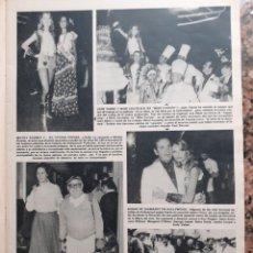 Coleccionismo de Revistas y Periódicos: MIMI COUTELIER MISS EUROPA MICKY ROONEY BETTE DAVIS. Lote 195343405