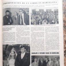 Coleccionismo de Revistas y Periódicos: JOAQUIN MERINO JOSE MARIA LLADO. Lote 195344371
